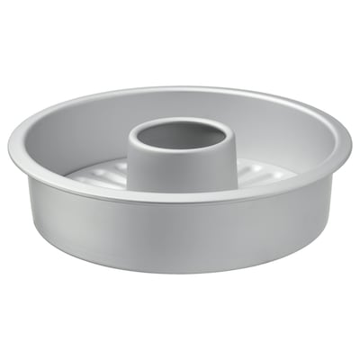 VARDAGEN Loose-base cake tin, silver-colour