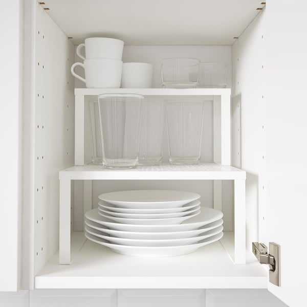 VARIERA Shelf insert, white, 32x13x16 cm