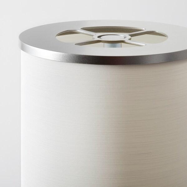 VIDJA Floor lamp, white, 138 cm