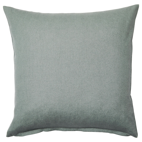 VIGDIS Cushion cover, pale green, 50x50 cm