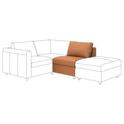 VIMLE 1-seat section, Grann/Bomstad golden-brown