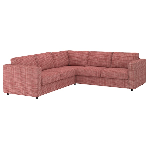 VIMLE Cover for corner sofa, 4-seat, Dalstorp multicolour
