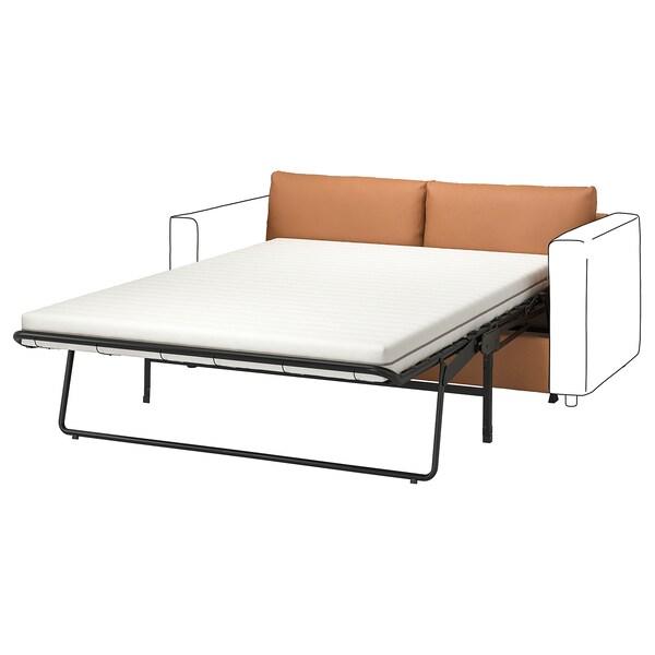 VIMLE Frame, 2-seat sofa-bed section, Grann/Bomstad golden-brown