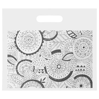 VINTERFEST Resealable bag, grey