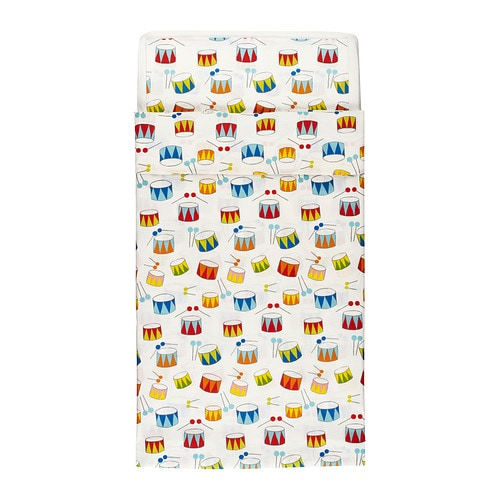VITAMINER TRUMMA Quilt cover/pillowcase for cot IKEA