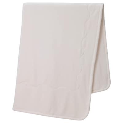 VITGRÖE Blanket, white, 150x200 cm