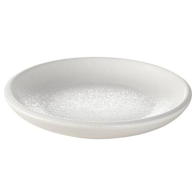 VITPEPPAR Saucer, white, 12 cm