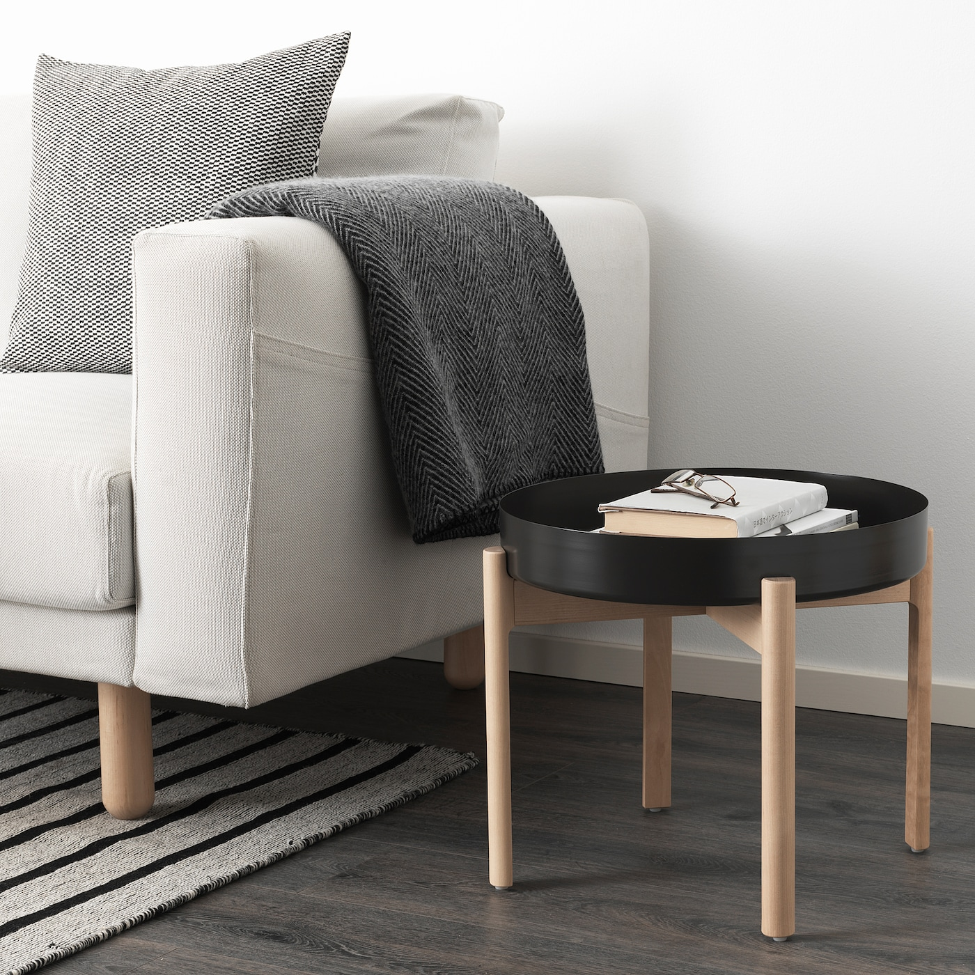 Ypperlig Coffee Table Dark Grey
