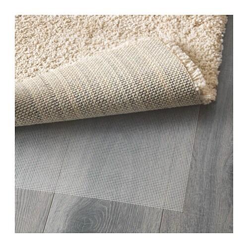 ÅDUM ラグ パイル長 IKEA 目の詰まった厚手のパイル。ソフトな感触で音を和らげる効果があります パイルには合成繊維を使用。丈夫で汚れに強く、お手入れも簡単です パイルが長めなので、並べて使っても継ぎ目が目立ちません