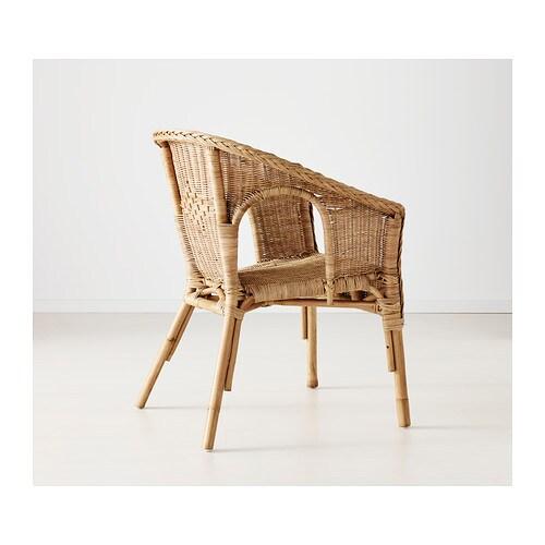 AGEN チェア IKEA 手編みなので、仕上がりがどれも少しずつ異なります 重ねて収納できます 脚の先がプラスチック製なので、湿り気のある床の上に置いても家具を傷めません
