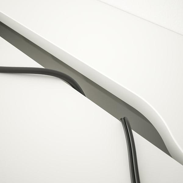 ALEX アレクス デスク, ホワイト, 100x48 cm