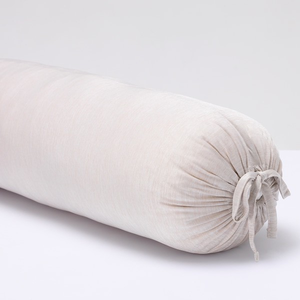 ALPKÅREL アルプコーレル ロング枕, ライトベージュ, 21x90 cm