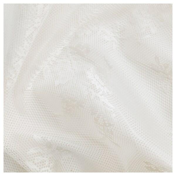 アルヴィーネ スペッツ ネットカーテン1組, オフホワイト, 145x250 cm