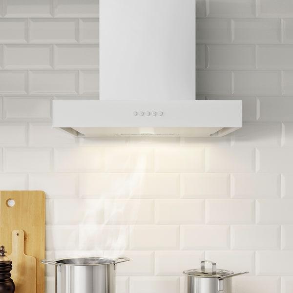 ANPASSA アンパッサ レンジフード, ホワイト, 60 cm