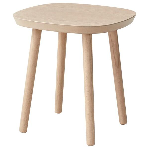 アスフレド コーヒーテーブル, ホワイトステインオーク材突き板, 35x35 cm