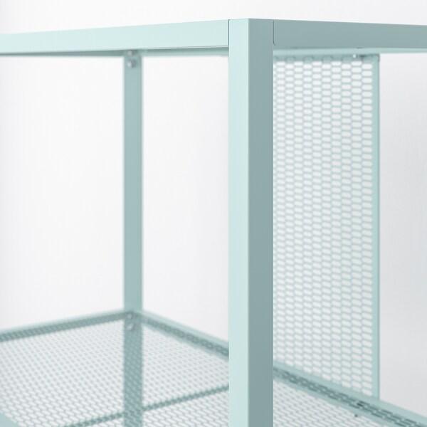 BAGGEBO バッゲボー シェルフユニット, メタル/ライトターコイズ, 60x30x80 cm