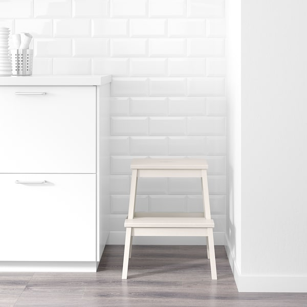 BEKVÄM ベクヴェーム ステップスツール, ホワイト, 50 cm