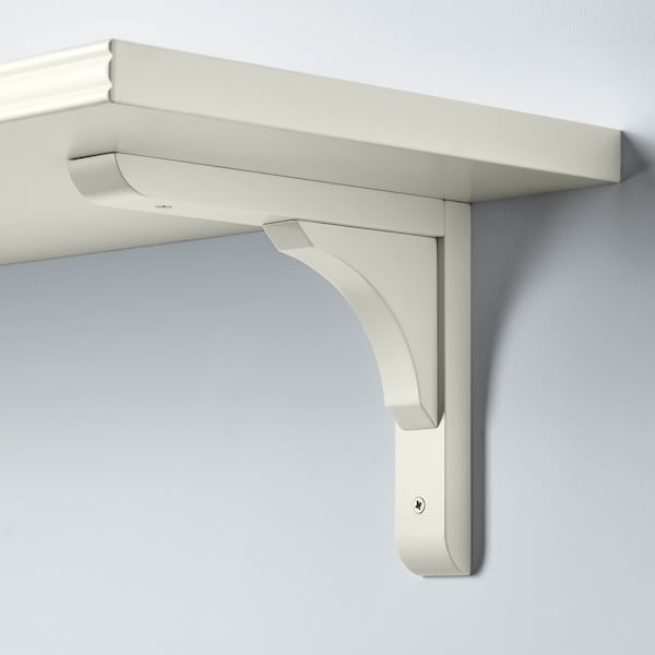 BERGSHULT ベリスフルト / RAMSHULT ラムスフルト ウォールシェルフ, ホワイト, 120x30 cm