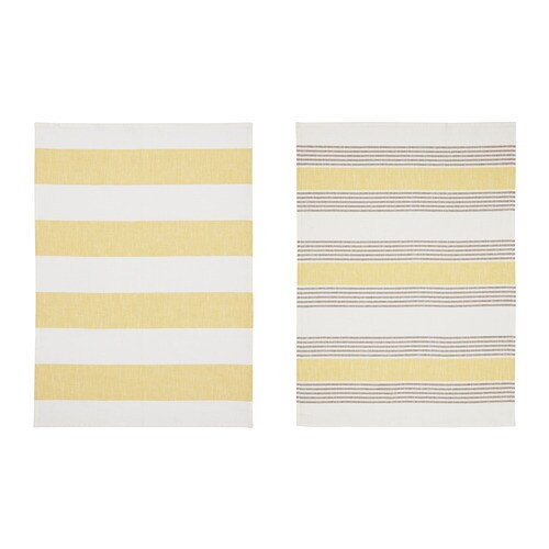 BESKUREN ベスクーレン キッチンクロス IKEA 綿/麻混紡。綿の柔らかさと、麻の光沢と張りを併せ持っています