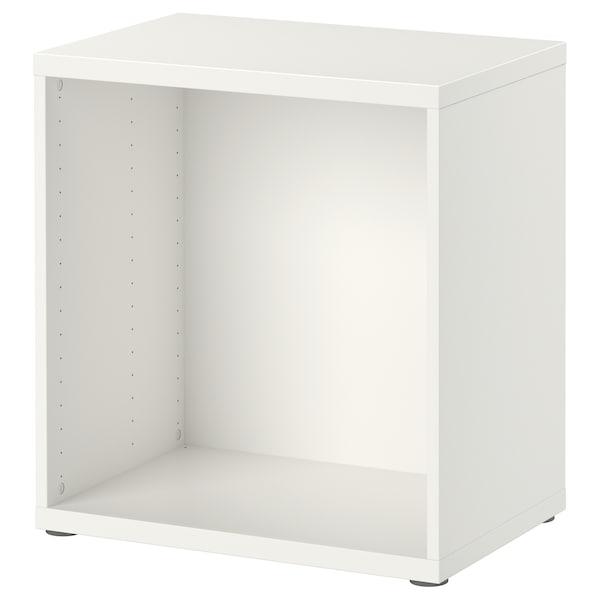 BESTÅ ベストー フレーム, ホワイト, 60x40x64 cm