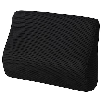 BORTBERG ボルトベリ 腰当てクッション, ブラック, 31x23 cm