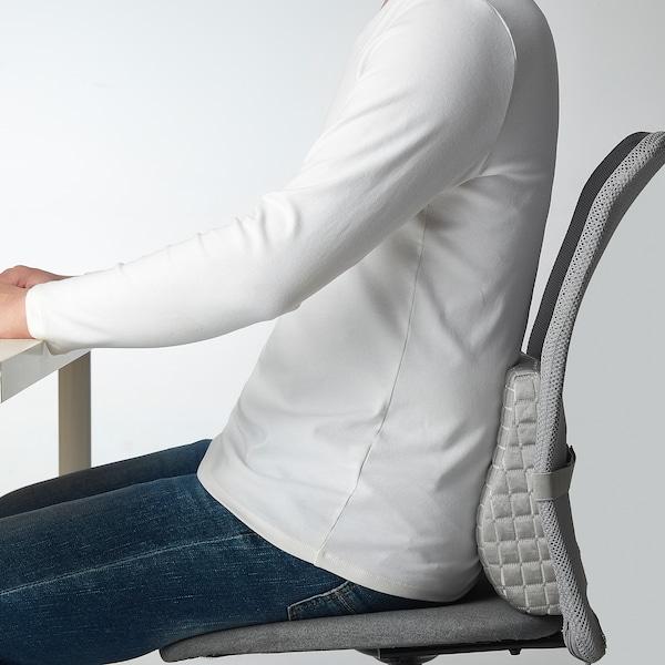 BORTBERG ボルトベリ 腰当てクッション, グレー, 31x23 cm