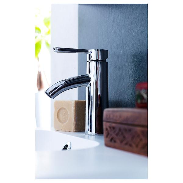 DALSKÄR ダールシェール 洗面台用混合栓 ストレーナー付き, クロムメッキ