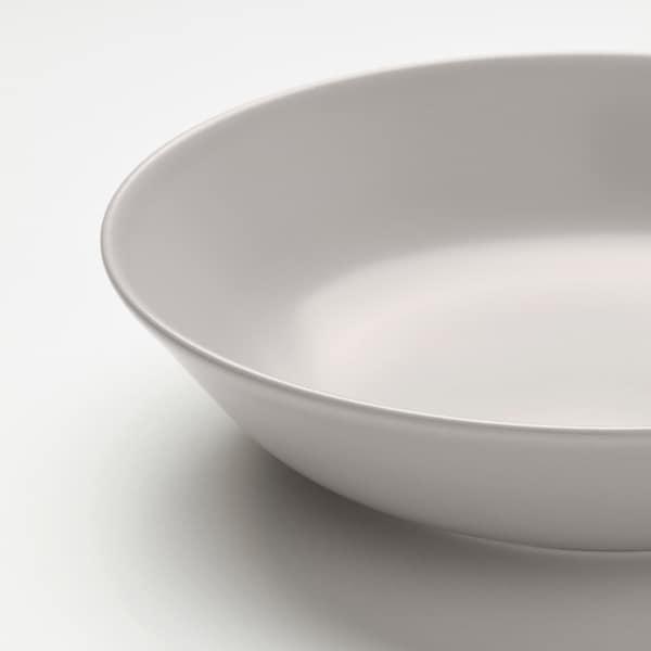 DINERA ディネーラ 深皿, ベージュ, 18 cm