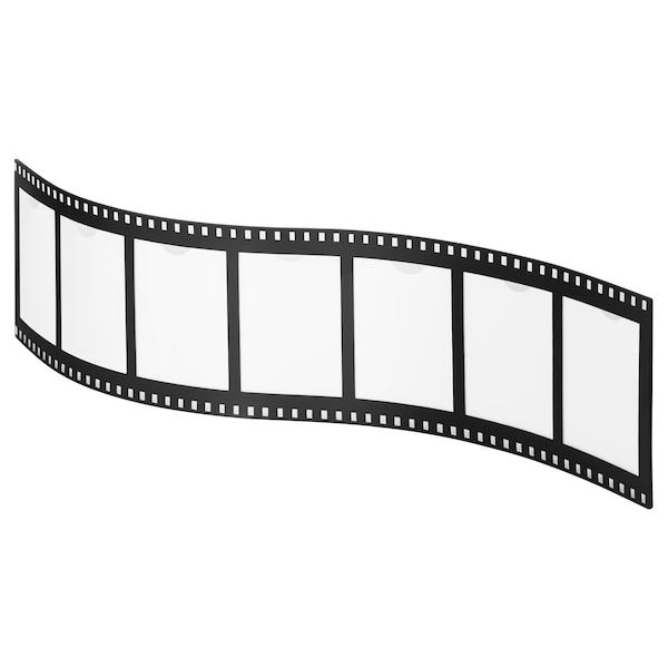 DRAGNÄS ドラグネス コラージュフレーム 写真7枚用, ブラック, 5x8 cm