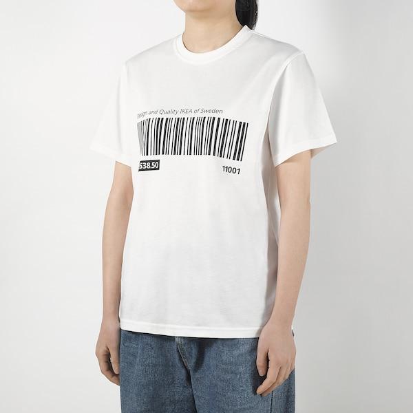EFTERTRÄDA エフテルトレーダ Tシャツ, ホワイト, S/M