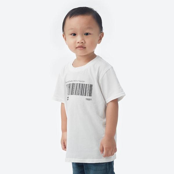 EFTERTRÄDA エフテルトレーダ Tシャツ, ホワイト, 120/128