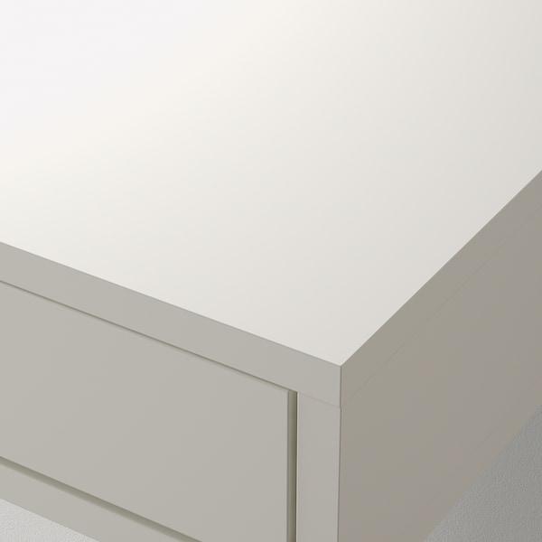 EKBY ALEX エーケビュ アレクス 棚板 引き出し付き, ホワイト, 119x29 cm