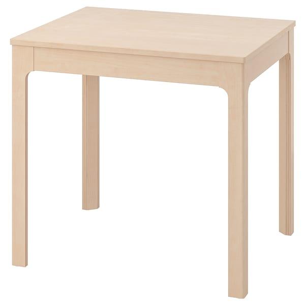 EKEDALEN エーケダーレン 伸長式テーブル, バーチ, 80/120x70 cm