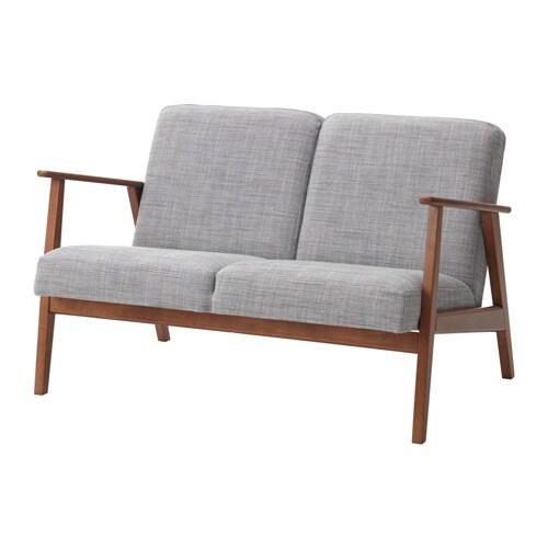 EKENÄSET 2人掛けソファ イースンダ グレー IKEA