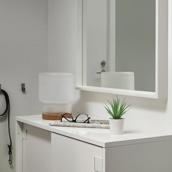 FEJKA フェイカ 人工観葉植物 鉢カバー付き, 室内/屋外用 Succulent, 6 cm