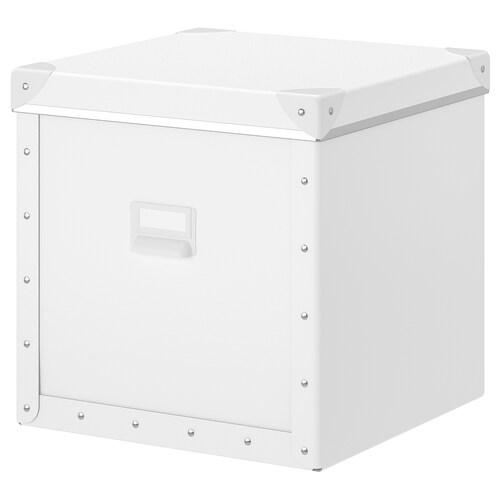 フィェラ 収納ボックス ふた付き ホワイト 30 cm 31 cm 30 cm 30 cm