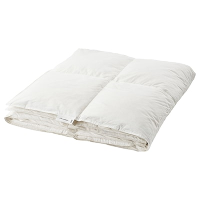 FJÄLLARNIKA フィエラルニカ 掛け布団 やや厚手 フェザー, 150x200 cm