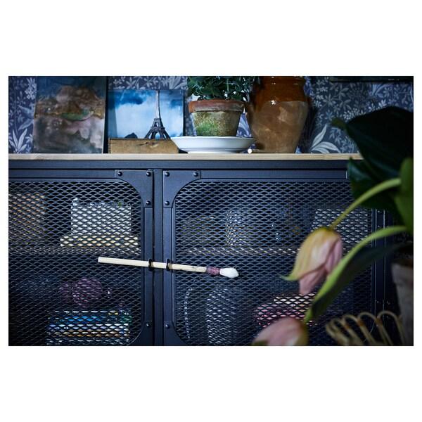 FJÄLLBO フィエルボ テレビボード, ブラック, 250x36x95 cm