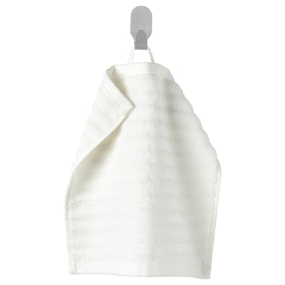FLODALEN フローダレン タオルハンカチ, ホワイト, 30x30 cm