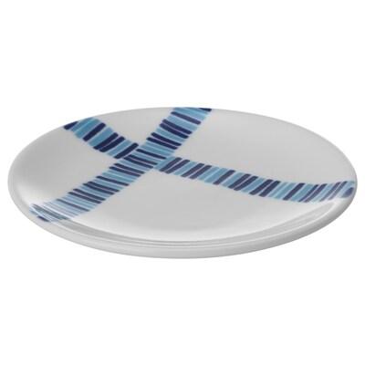 FOLIEFORM フォリエフォルム プレート/小皿, ブルー/ホワイト, 10 cm