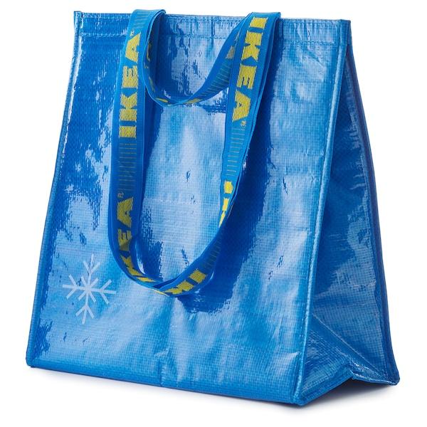 FRAKTA フラクタ クーラーバッグ, ブルー, 38x40 cm