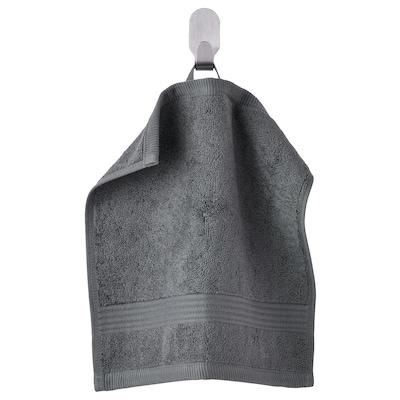 FREDRIKSJÖN フレードリクショーン タオルハンカチ, ダークグレー, 30x30 cm
