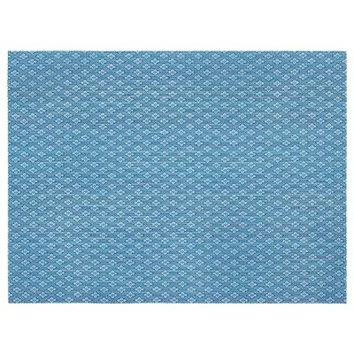 GALLRA ガッルラ ランチョンマット, ブルー/模様入り, 45x33 cm