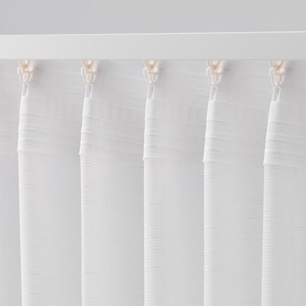 GJERTRUD ヤルトルド シアーカーテン1組, ホワイト, 145x176 cm