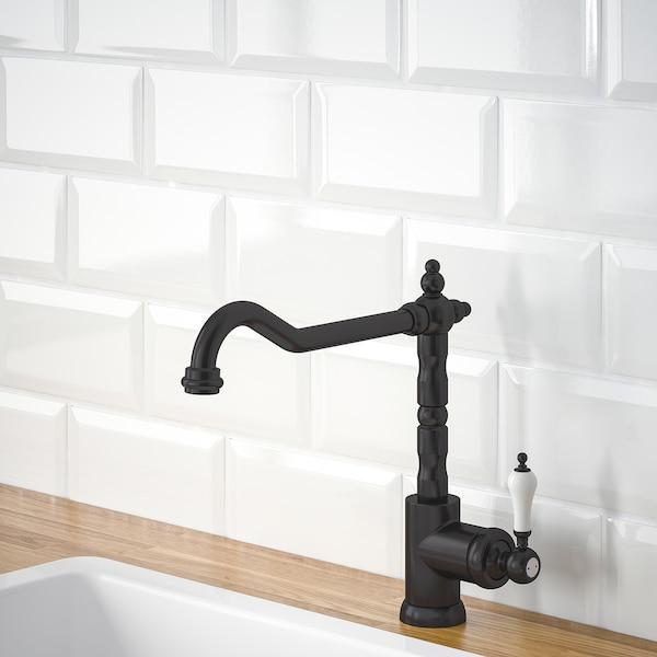 GLITTRAN グリットラン キッチン混合栓, ブラック