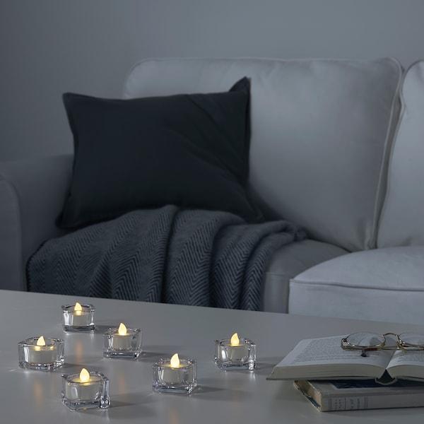 GODAFTON グダフトン LEDティーライト 室内/屋外用, 電池式/ナチュラル