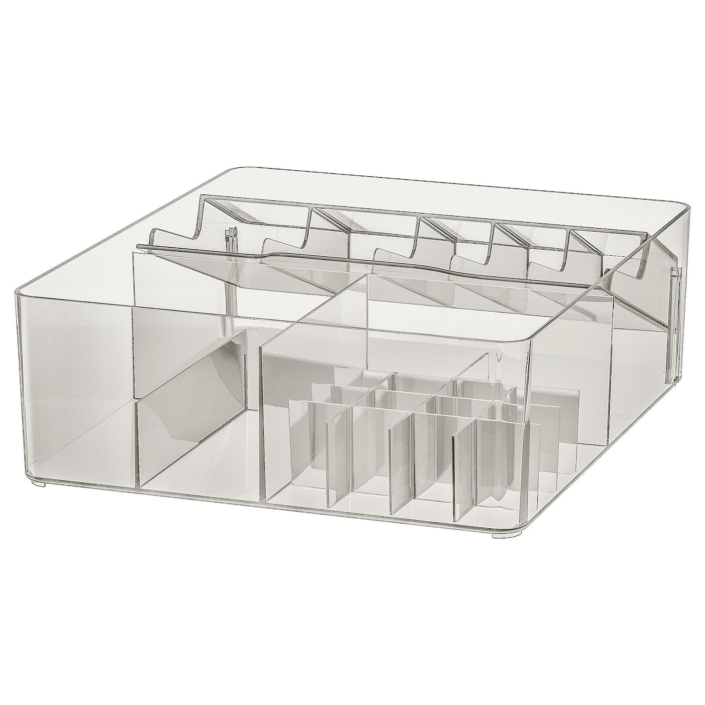 IKEA グモロン ボックス 仕切り付き