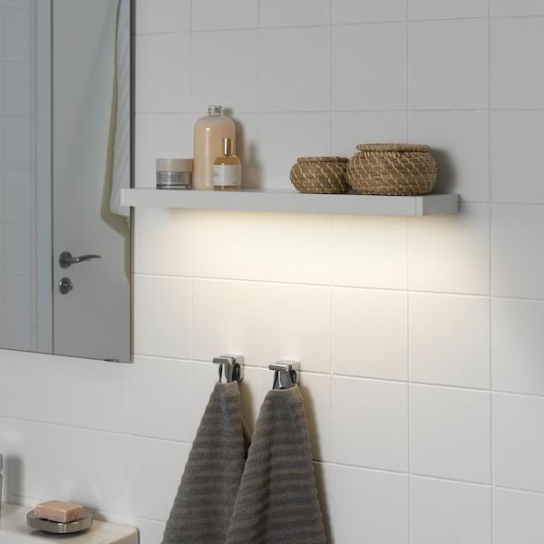 GODMORGON グモロン LEDキャビネット/ウォール照明, ホワイト, 60 cm