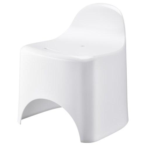 グルムラン スツール ホワイト 35 cm 33 cm 36 cm 19 cm 25 cm 100 kg