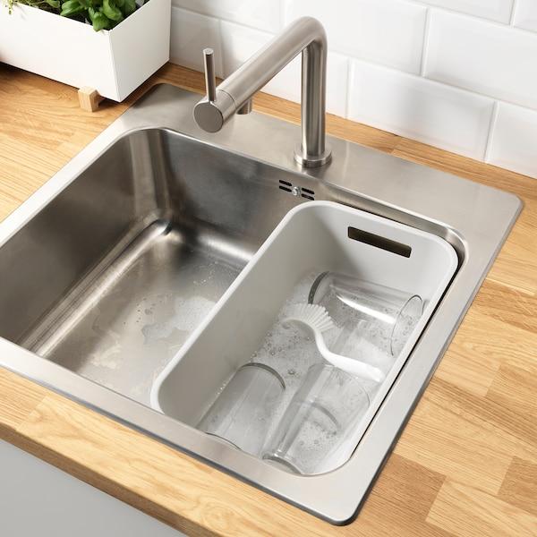 GRUNDVATTNET グルンドヴァトネット 洗い桶, グレー